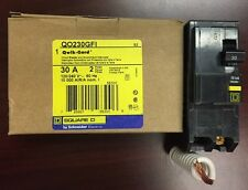 BRAND NEW SquareD QO230GFI QO230  2Pole 30Amp 120/240Volt Plug-In Groundfault