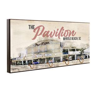 The Pavilion Myrtle Beach SC Design Key Hanger / Pet Leash Hanger