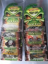 Hot Wheels US Exclusive 2008 Fright Cars Set Of 8 With VHTF Invisible Phastism