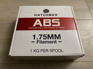 Hatchbox ABS 1.75mm 3D Printer Filament 1 Kg Spool True Blue