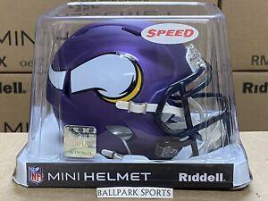 Minnesota Vikings - Riddell NFL Speed Mini Football Helmet