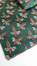 NWT TIE RACK 100% SILK PHEASANT CRAVAT/NECK SCARF/ASCOT/COUNTRY HUNTING/SHOOTING