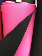 """Néoprène étanche tissu 54"""" """"de large rose qualité supérieure £ 17.50/mtr 4mm épais"""