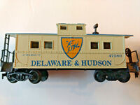 HO scale 2 Caboose lot Delaware and Shorty  small caboose vintage