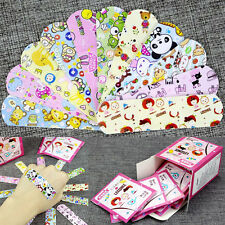 100pcs Variety Patterns Bandages Cute Cartoon Band Aid For Kids Children