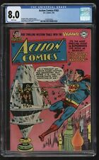 Action Comics 182 CGC graded VFN Ultra rare Sixteen known copies