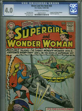 Brave and the Bold #63 - January, 1966 - CGC 4.0 (Supergirl & Wonder Woman)