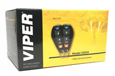 Viper 3105V Car Alarm 1-Way TWO 4-Button Remotes Keyless NEW 2017 Model
