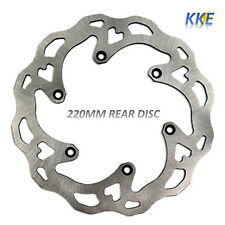 Rear Brake Disc Fit KTM Rotor SX SXF XCF EXC EXCF EXCW 125-530cc 2009-2019 220MM
