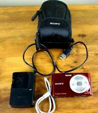 Sony Cybershot Steady Shot DSC-W510 - Charger & Battery- No Memory Card