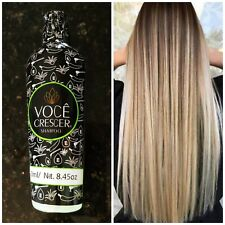 Shampoo Voce Crescer New imagen .Long healty and beautiful hair.Unisex all ages.