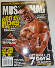 Musclemag Magazine Quincy Taylor & Canadian Muscle August 2010 121614R2