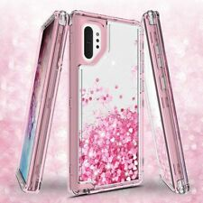Samsung Galaxy Note 10 Note 10 Plus Case Heavy Duty Liquid Glitter Bling Cover