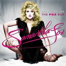 Samantha Fox - Play It Again Sam - The Fox Box (NEW CD+DVD SET)