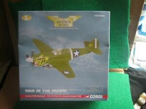 CORGI AVIATION AA35205 CURTISS P-40E WARHAWK 1943 (1:72 SCALE) LOT J48