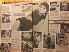 Blondie, Two Page Vintage Clipping