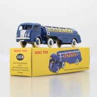 Dinky toys 32CB Tracteur Panhard Avec NAPHTEX SEMI REMORQUE TITAN Car Model New