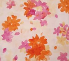 Fanfare BTY Kate Follows Quilting Treasures Tonal Pink Floral Flower Calico
