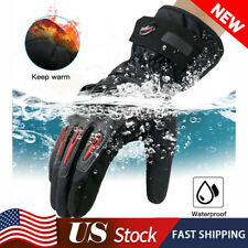 Motorcycle Cycling Winter Warm Gloves Windproof & Waterproof Touchscreen Gloves