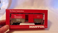 HO Scale Mantua 41' Box Car, New York Central Pacemaker Red #174479 BNOS