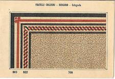 Stampa antica PAVIMENTO A MOSAICO Piastrelle Mattonelle C 708 1910 Antique print