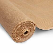 Instahut 3.66 x 10m Shade Sail Cloth - Beige (SH-CL-366X100-100-BE)