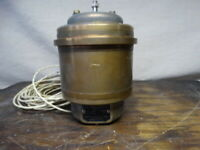 WWII 1943 Brass Repeater Motor A.C. Synchronous Bendix Aviation Marine Division