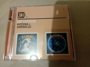Def Leppard 2 CD Hysteria Adrenalize New