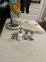 Vintage Fisher Price 325 Alpha Probe Space Ship Shuttle Adventure People
