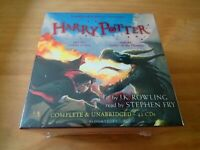 HARRY POTTER AUDIO BOOKS 4-5 J K ROWLING. STEPHEN FRY UNABRIDGED 41 CDs RRP £159