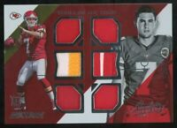 2014 Panini Absolute Aaron Murray Rookie Game-Used Jersey #/249 6 patches Chiefs