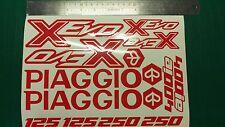 Piaggio Xevo Decal Sticker Set Many colours available! x-evo x evo 125 250 400ie