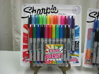 NEW COLOR BURST  ULTRA FINE Sharpie 24ct Limited Ed.Perm. Markers