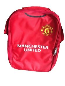 Manchester United FC Official Football Gift Kit Lunch Bag Used Great Condition