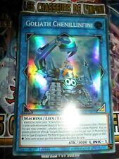 YU-GI-OH! SR SUPER RARE GOLIATH CHENILLINFINI INCH-FR010 NEUF EDITION 1