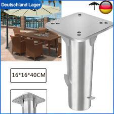 Universal-Bodenplatte Sonnenschirmständer für Ampelschirm Balkongeländer Metall