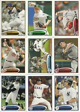 2012 Topps  Set # 1 - 660     Missing 8 Cards