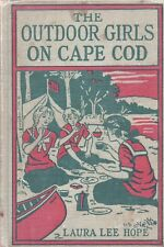 OUTDOOR GIRLS ON CAPE COD By LAURA LEE HOPE Grosset Dunlap HC 1924