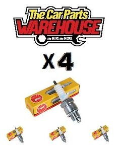 NGK Spark Plugs TR5A-10 NGK0005 0005 FOUR PLUGS ( x4 ) Fits: Escort Fiesta Focus
