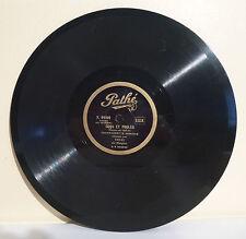 78T TRE-KI Empire Gramophone COQS ET POULES Comique PIOLOUS Chanté PATHE RARE