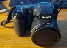 Nikon Coolpix L340 20.2MP 28X Wide Optical Zoom Compact Digital Camera & Bag