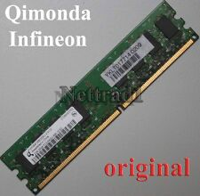 2GB DDR2 Ram Arbeitsspeicher PC 6400 Low Density alle Mainboards INTEL + AMD