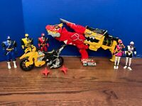 Power Rangers Toy Lot: Morpher Blasters, Dino Cycle, Figures, Chargers