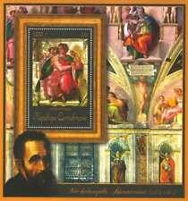 Central Africa - Michelangelo, Jessaja - Souvenir Sheet - 3H-192