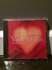 NEW  Valentine Musical Selections  16 Contemporary Love Songs   Promotional  CD
