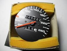 PORSCHE 944 944 S 944 S2 SPEEDOMETER  KPH BRAND NEW 86-91 BRAND NEW 5 SPEED TYPE
