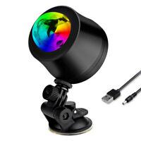 1x Auto Car Disco DJ Stage Lighting LED RGB Crystal Ball Lamp Bulb Light Party