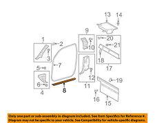 TOYOTA OEM 07-11 Tundra-Door Sill Plate Left 679140C040E0