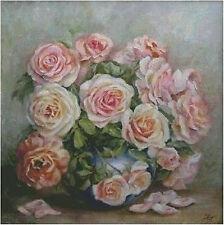 """NEW Cross Stitch Kits DMC""""Williams flowder-pink rose"""""""