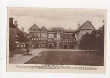 Court Yard Bramall Hall 1938 RP Postcard 325a